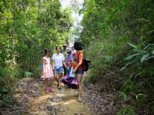 Jian feng ling mountain hikes