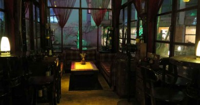 Bars in Haikou city centre: Wan Guo
