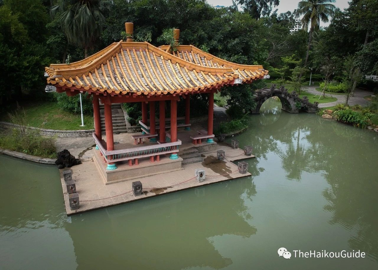 Temple of the five lords Haikou 4