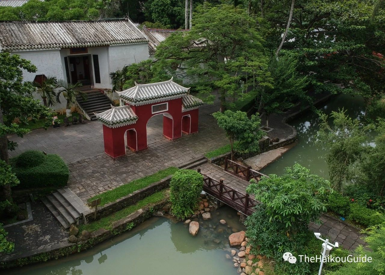 Temple of the five lords Haikou 6
