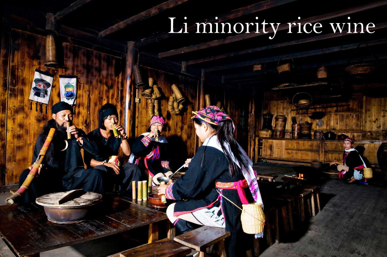 Li minority rice wine