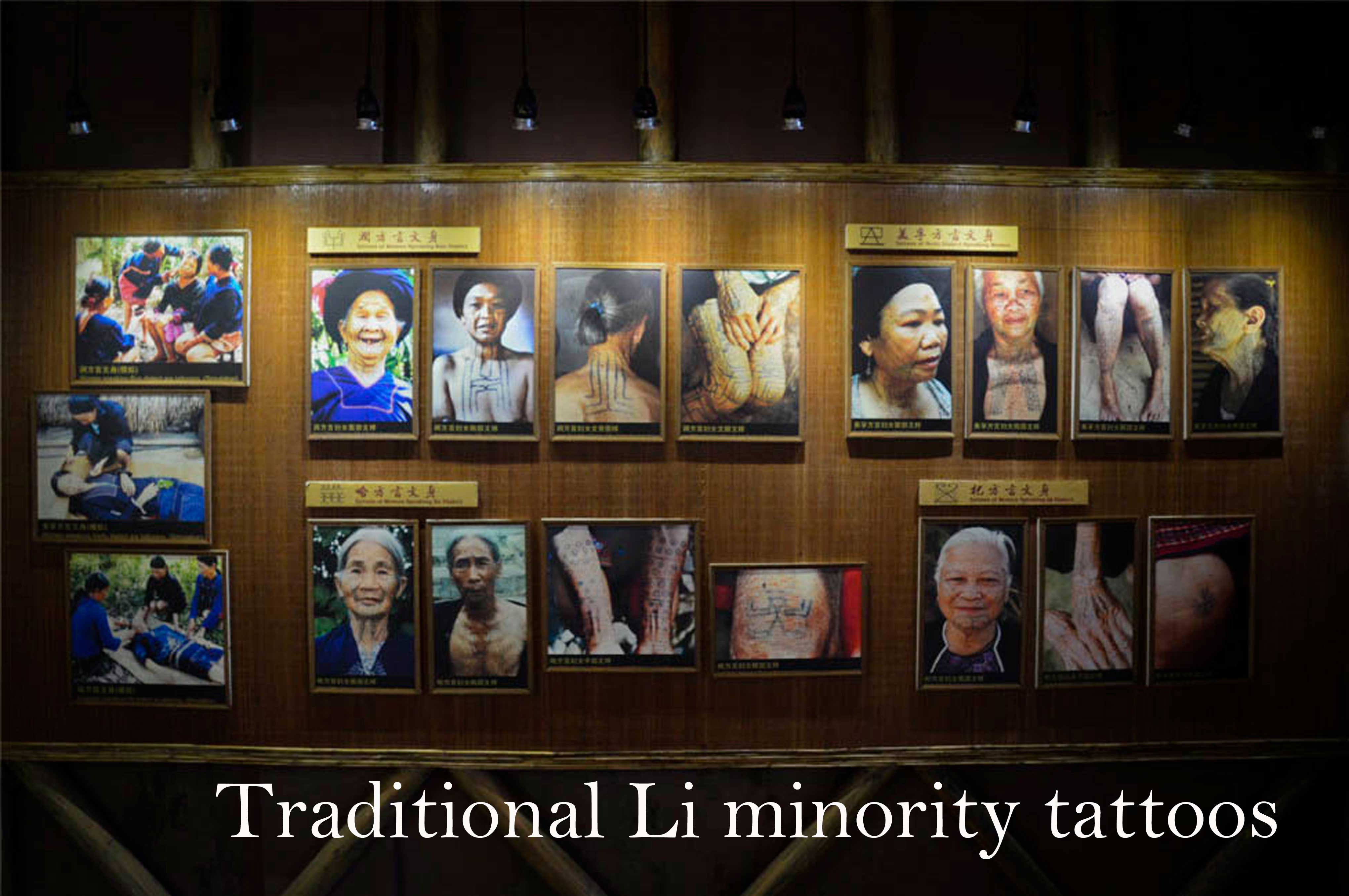 Li minority tattoos