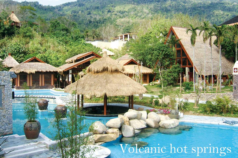 Baoting volcanic hot springs