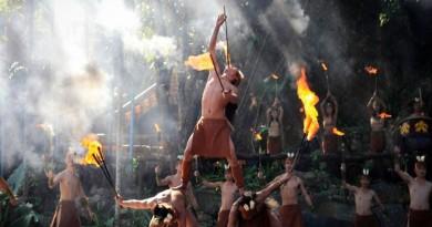 Baoting fire dance