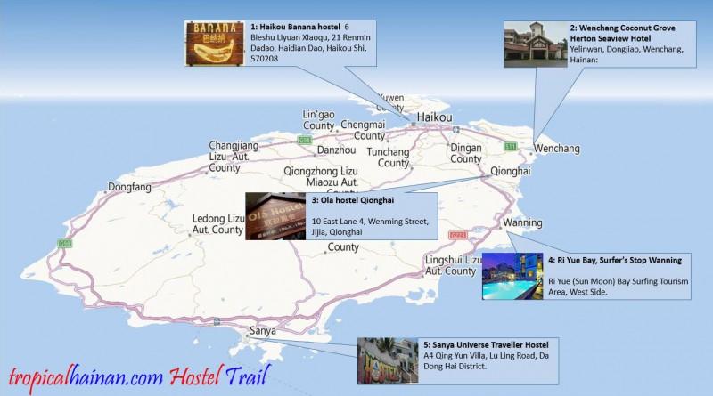 Hainan Hostel Trail