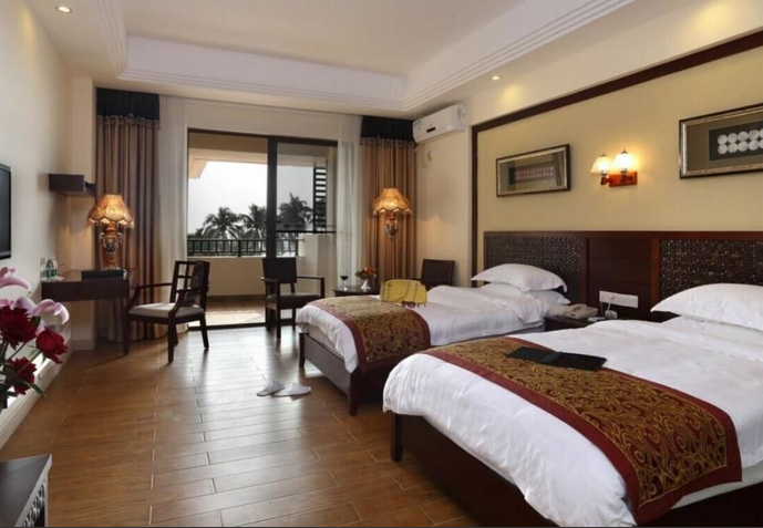 Wenchang Coconut Grove Herton Seaview Hotel Twin Room