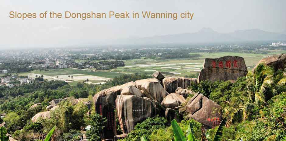 Slopes of the Dongshan peak Wanning City