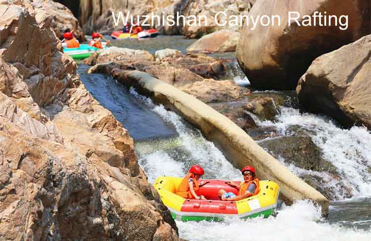 Wuzhishan Canyon Rafting 1