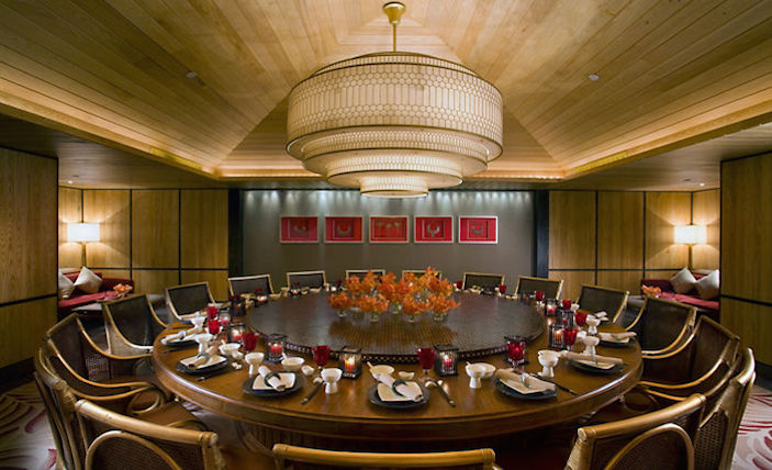 Top restaurants in Sanya Mandarin Oriental Private Dining Room