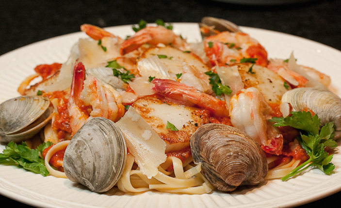 Top restaurants in Sanya Seafood Pasta