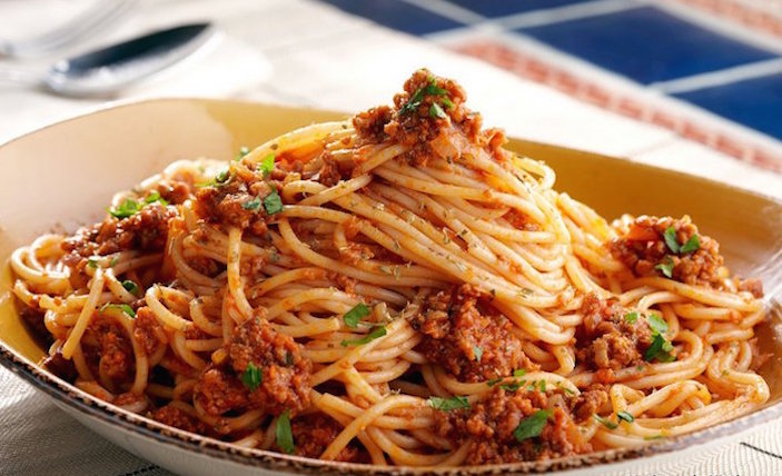 Top restaurants in Sanya Spaghetti Bolognese