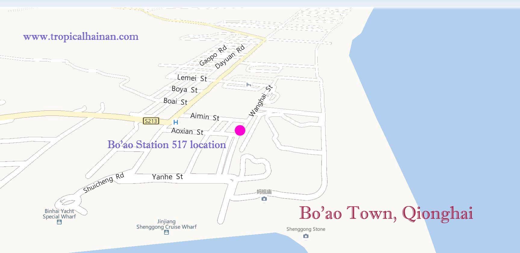 Boao Station 517 location