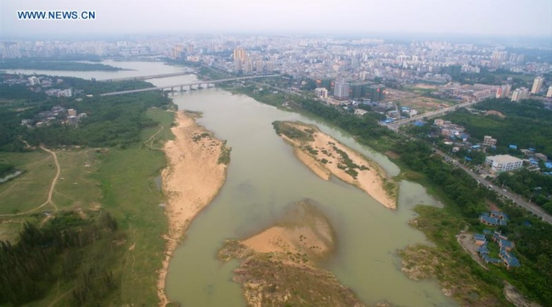 Drought in central Hainan