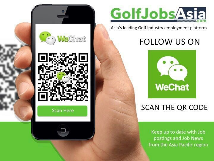 Golf Jobs Asia on Wechat