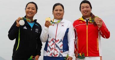 Shanshan Feng's Bronze medal