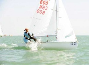 Hainan-sailor-Huang-Lizhu-qualified-for-the-Rio-Olympics