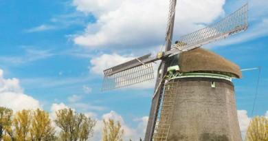 One Belt Ine Road rotterdam Windmill