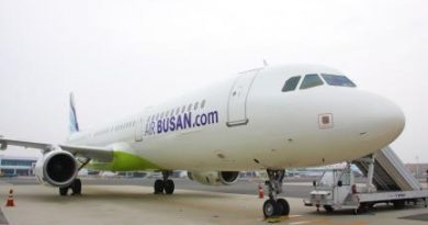 South Korea's Air Busan to launch flight linking Busan to Sanya, China in Dec.