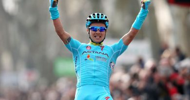Alexey Lutsenko of Astana Pro Team has secured the overall victory of the Tour of Hainan