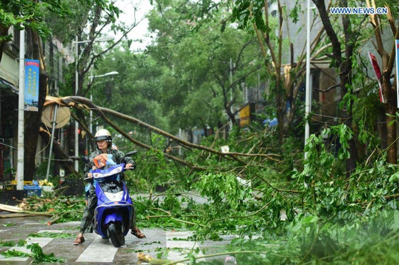 Hainan typhoon-Sarika 4