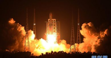 China successfully launches Its Biggest Rocket Yet Long March-5 heavy-lift carrier rocket