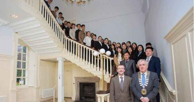 Hainan University tourism students in Ireland, the most popular tourist destination in Europe
