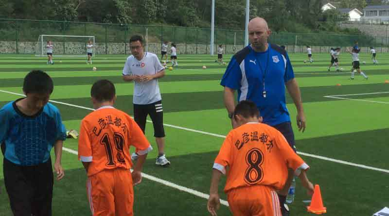 Tranmere Rovers' coaching 3,000 children at Hainan & Inner Mongolian football training camp