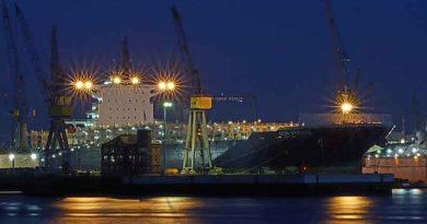 International port of Yangpu enters official operation