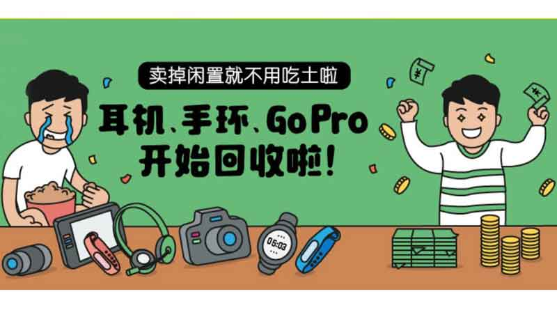 Aihuishou platform for recycling and the sale of second-hand electronics