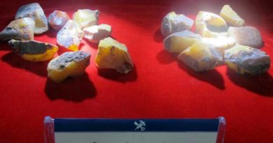 60 tonnes of smuggled gemstones seized by customs in Haikou