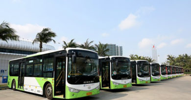 150 Ankai electric buses put into operation in Haikou