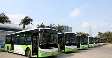 150 Ankai electric buses put into operation in Haikou