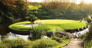 Hainan Island Golf Courses and resorts Haikou area, Hainan Meilan Golf Club