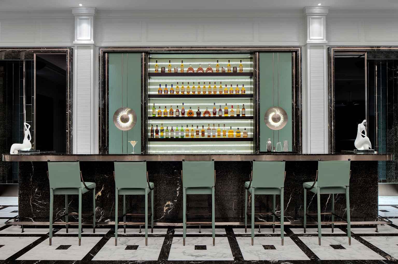 "The hotel bar ""Liquary"""