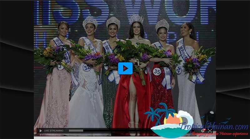 Watch Miss World Live 2017