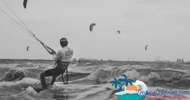 How, where and when, The Haikou Kite boarding Open Dec 1st to 4th