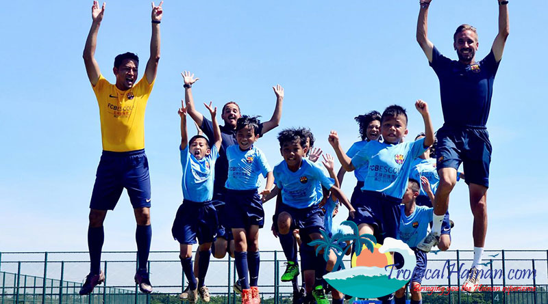 FC Barcelona Summer training camp returns to Haikou