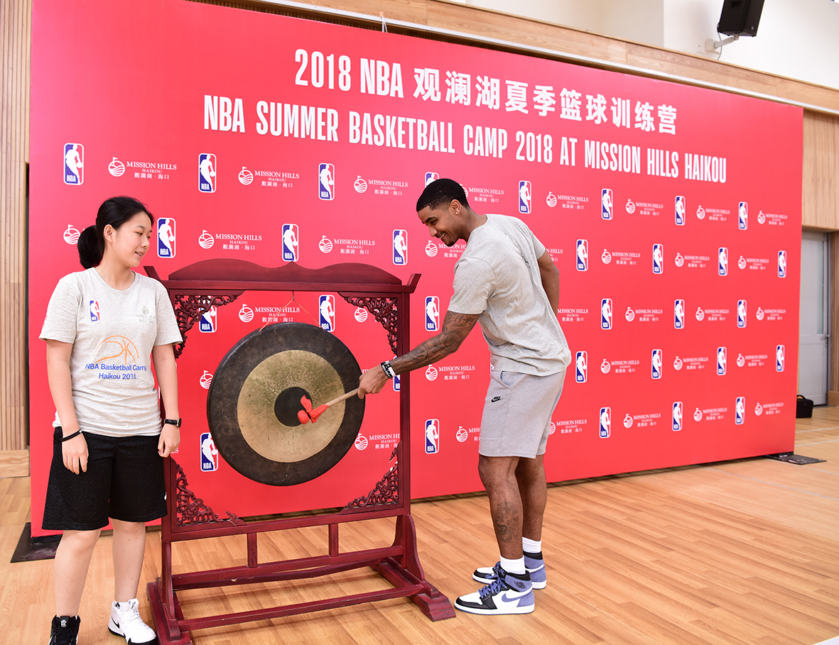 NBA STAR GARY HARRIS THRILLS LOCAL KIDS AT BASKETBALL CAMP IN HAINAN, CHINA 3
