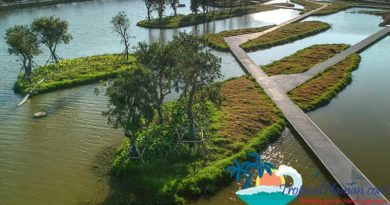 Discover The Haikou Meishe River Wetland Park