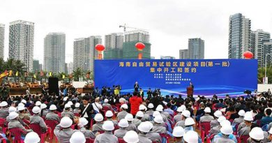 Hainan Pilot Free Trade Zone (FTZ), in Haikou