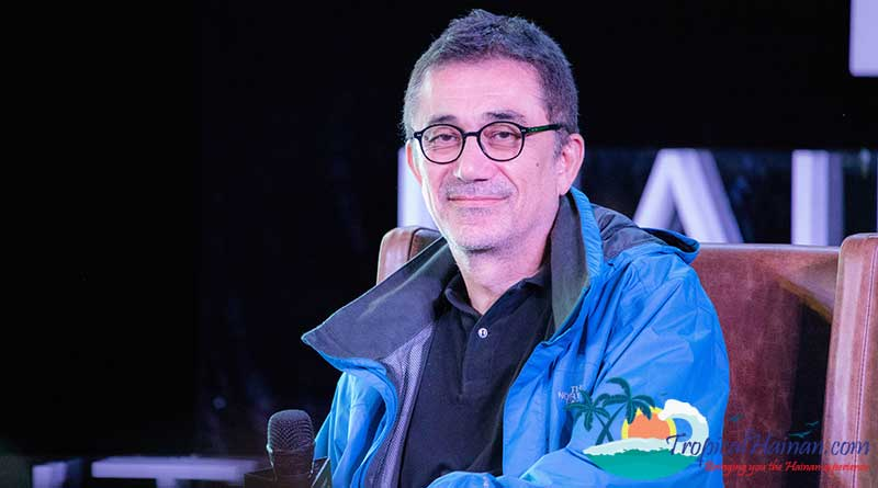 Interview with Nuri Bilge Ceylan Turkish master filmmaker at Hainan International Film Festival