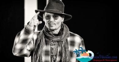 Johnny Depp Big names attend the Hainan International Film Festival