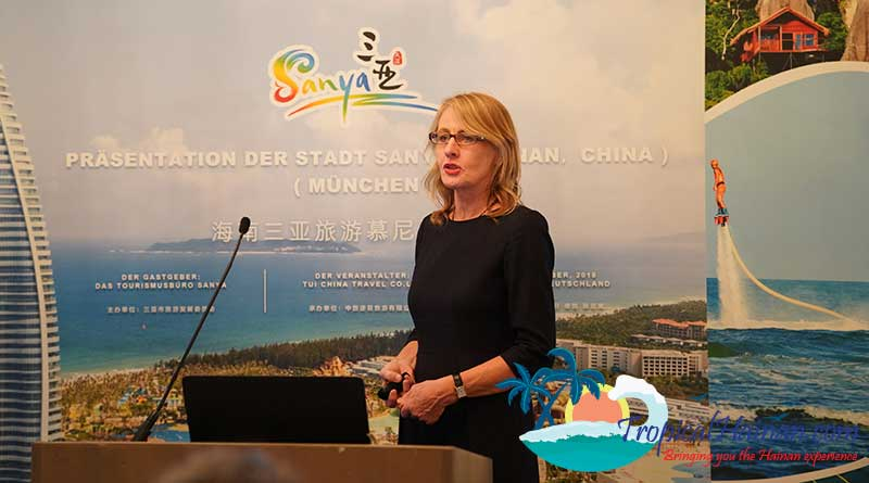 the Sanya Tourism Development Commission and TUI Group, the largest outbound tourism wholesaler in Germany, jointly hosted promotional events in Frankfurt and Munich, Germany