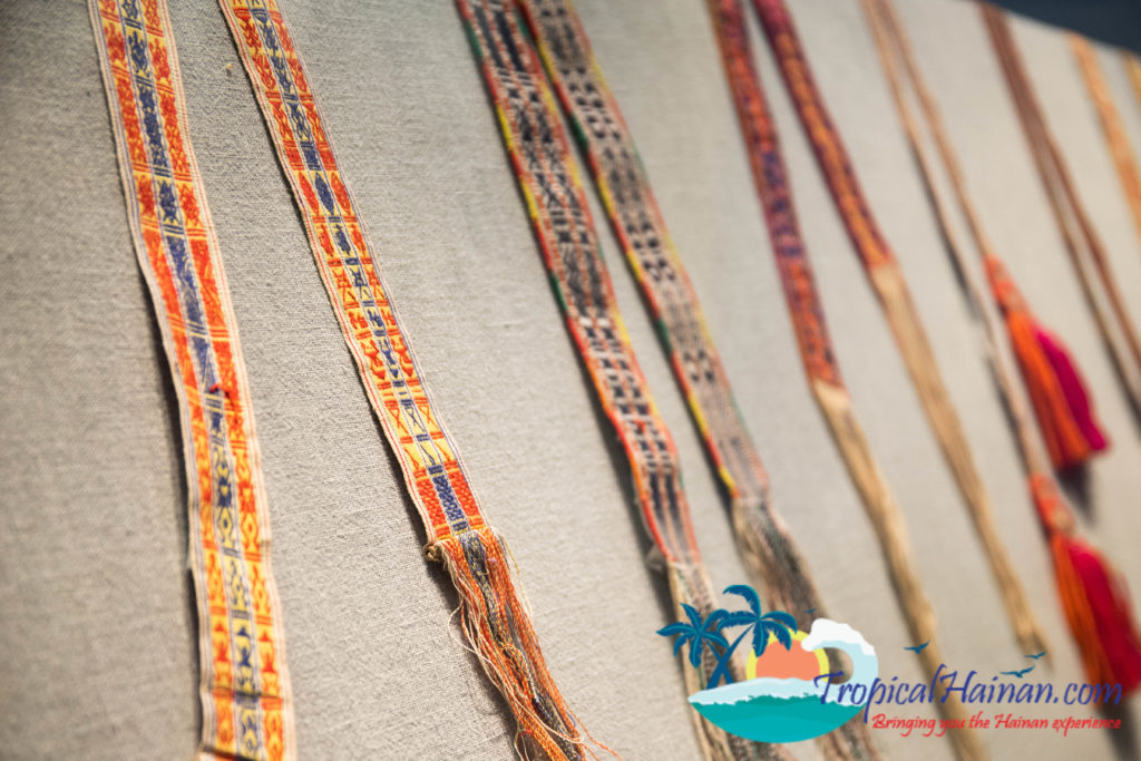 Li minority textile embroidery techniques