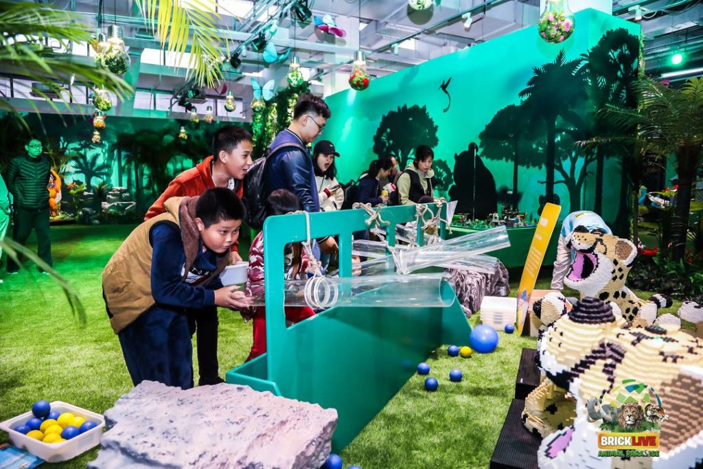 BrickLive Animal Paradise, an interactive LEGO experience in Haikou (9)