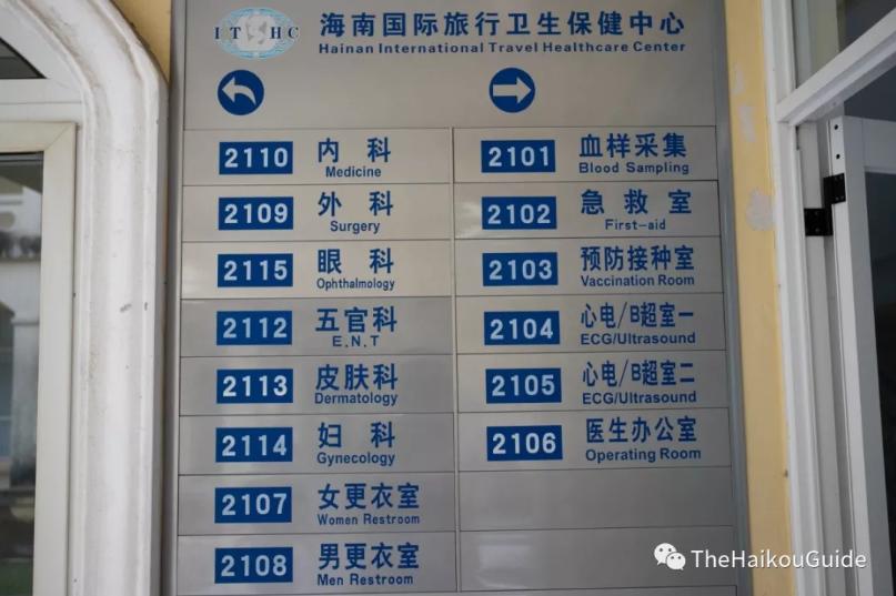 Health check in Haikou hospital checks