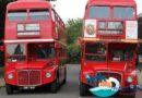 15 double-decker buses launch in Haikou