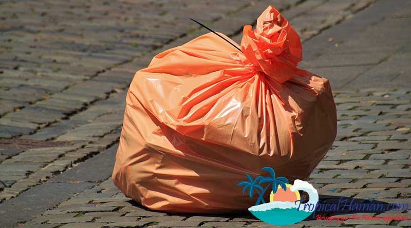 Hainan to ban disposable plastic bags and tableware by 2020