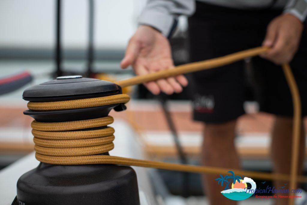 International competitors make last minute preparations for 2019 10th Hainan Regatta