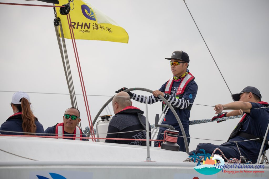 The 2019 Wuzhizhou Island Cup, the 10thInternational yacht race around Hainan Island kicked off this morning at 10 o'clock.
